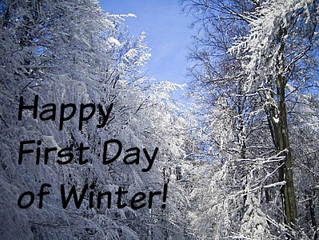 Happy First Day of Winter!
