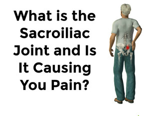 What is the Sacroiliac Joint and is it Causing You Pain?