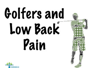 Golfers and Low Back Pain