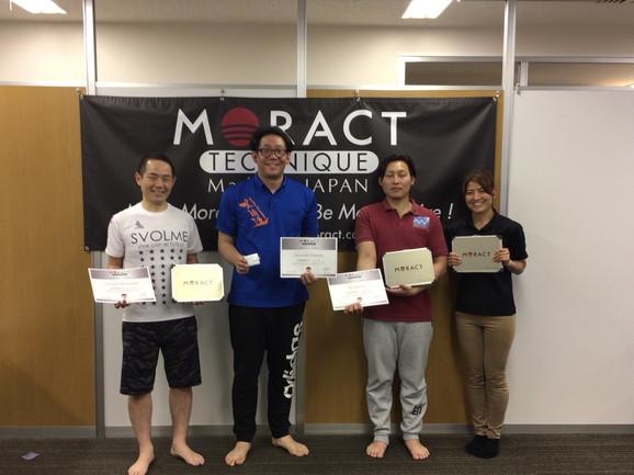 2018.4.15 MORACTテクニックレベル2セミナー