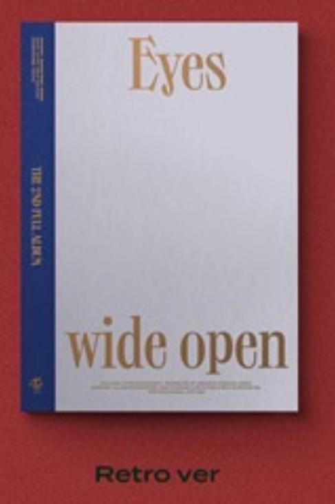 TWICE 2ND ALBUM - EYES WIDE OPEN