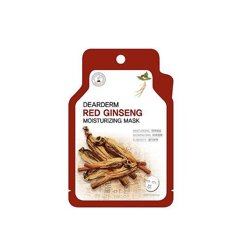DearDerm Red Ginseng Moisturizing Sheet Mask