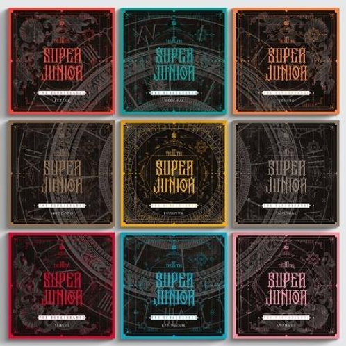 SUPER JUNIOR ALBUM VOL. 10 - THE RENAISSANCE (SQUARE STYLE)