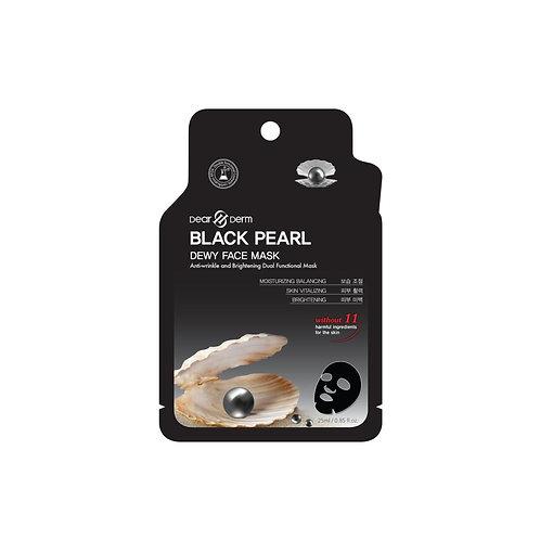 Dearderm Black Pearl Firming Sheet Mask