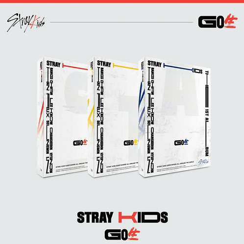 STRAY KIDS [ GO LIVE ] GO生 1st Album Standard Ver KPOP CD+Photobook+Photocards