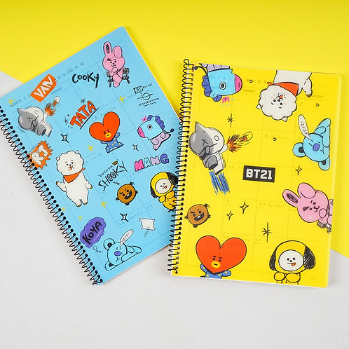 Official BT21 Monthly Planner