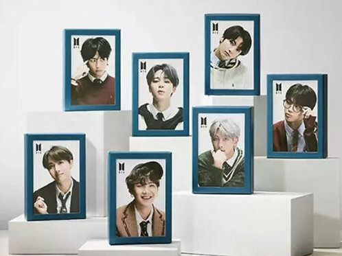 Official BTS Members 108 pieces Jigsaw Puzzle & Frame + Photo Card