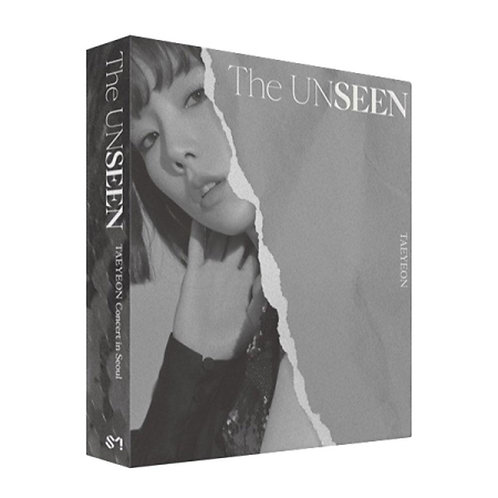 TAEYEON CONCERT [ THE UNSEEN ] KIT ALBUM + PHOTO BOOK