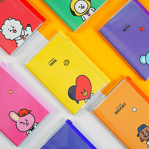 BT21 PVC Cover Diary | OFFICIAL MD