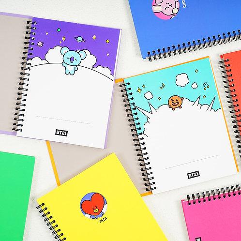 BT21 Bbaeggom Notebook | OFFICIAL MD
