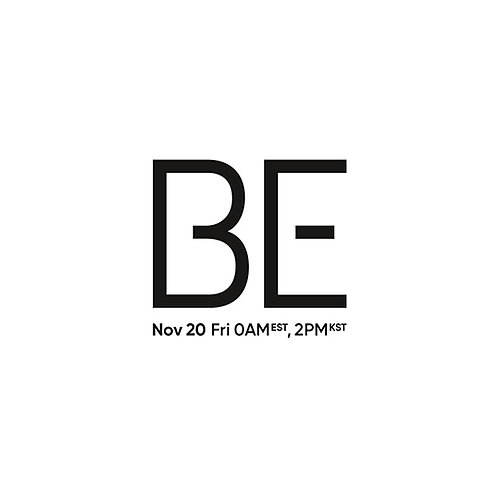 BTS ALBUM (Deluxe Edition) - BE + Poster