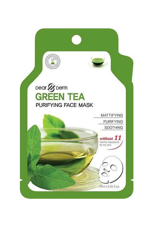 Dearderm Green Tea Age-Eraser Sheet Mask