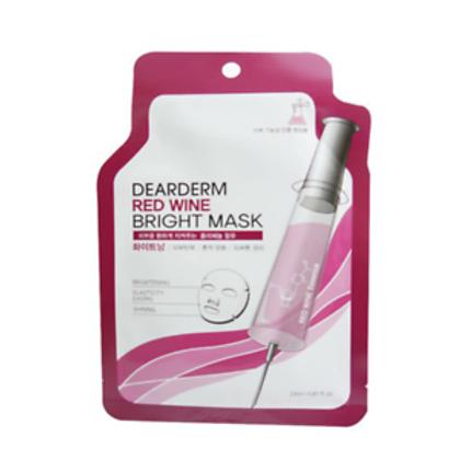 DearDerm Red Wine Bright Sheet Mask