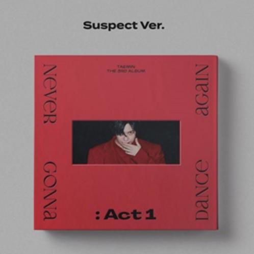 TAEMIN 3RD ALBUM - NEVER GONNA DANCE AGAIN: ACT 1