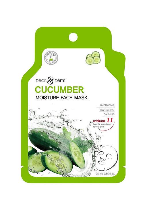 Dearderm Cucumber Moisture Face Mask