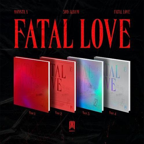 MONSTA X ALBUM VOL. 3 - FATAL LOVE