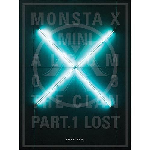 MONSTA X MINI ALBUM VOL. 3 - THE CLAN 2.5 PART.1 LOST