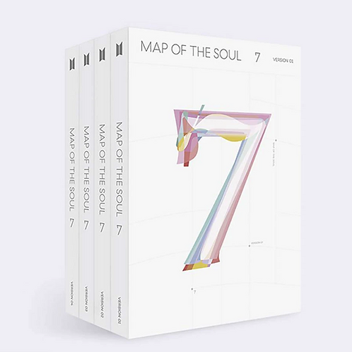 BTS 4TH ALBUM [ MAP OF THE SOUL : 7 ]