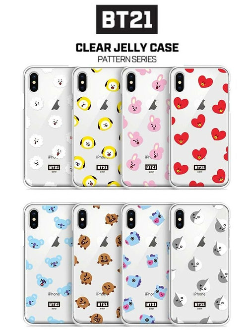 BT21 iPhone Clear Jelly Case | OFFICIAL MD