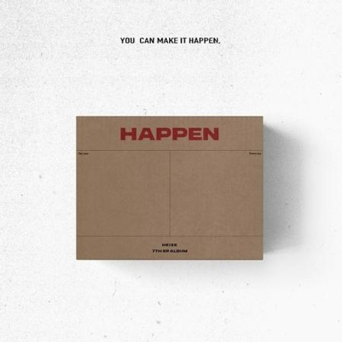 HEIZE EP ALBUM VOL. 7 - HAPPEN