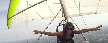 Sarah Jones Reports Hang Gliding