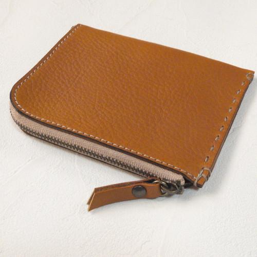 M size Zip Wallet Camel