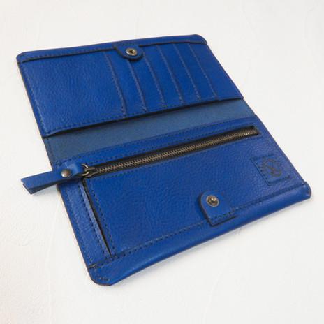 長財布2つ折り  Blue