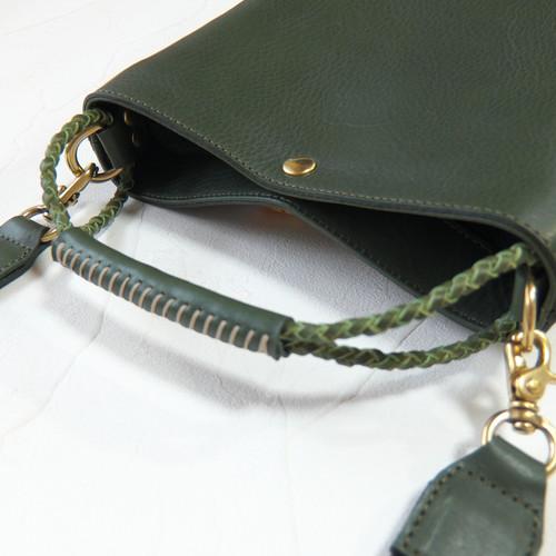 2Wayバケツ型バッグ  Green