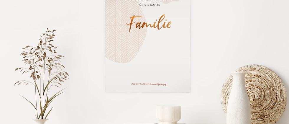 Familienkalender 2021, A3 - Ein bisschen Ordnung