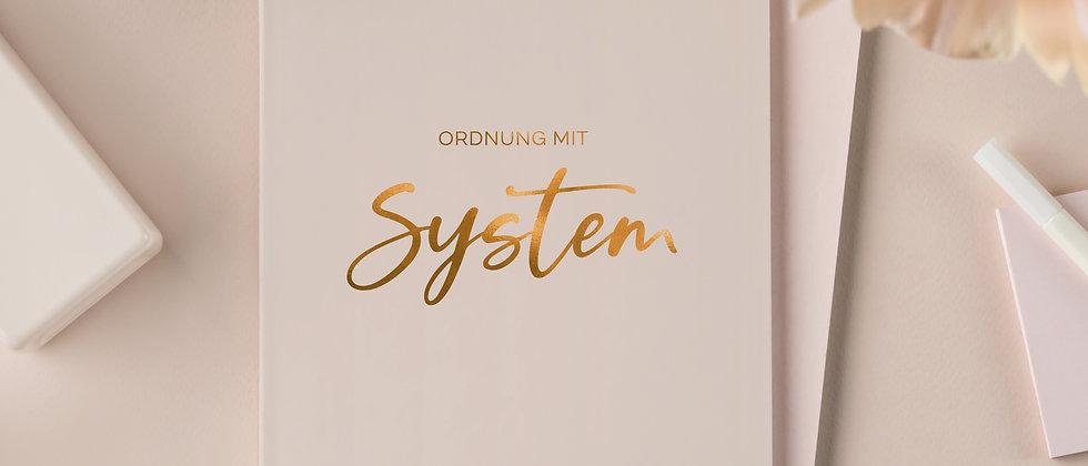 Ordnungsplaner, Ordnung mit System - Ein bisschen Ordnung