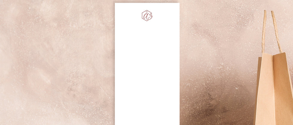 Print your Design, Karte DIN lang