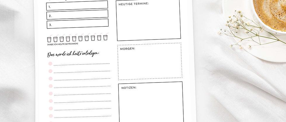 Businesswoman Dayplaner - Notizblock, A4