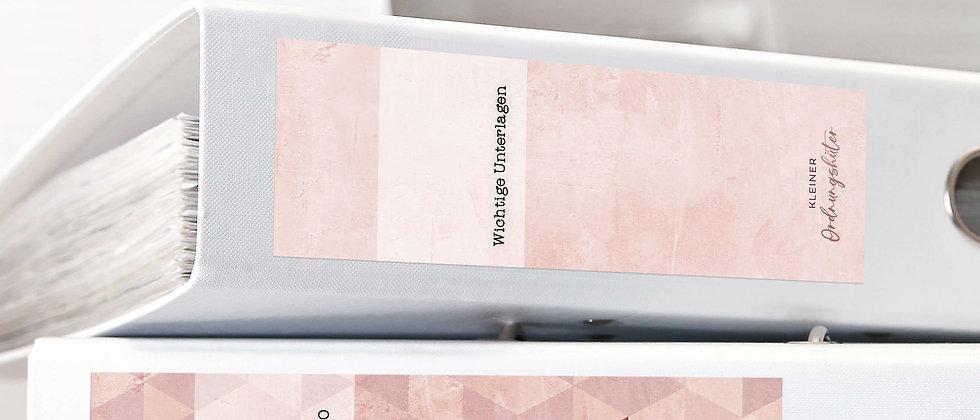 Ordnungshüter - Ordneraufkleber (Farbe+)
