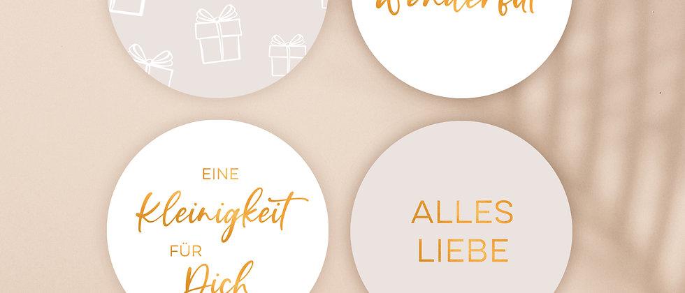 Geburtstag, Set - Aufkleber (Special Edition)