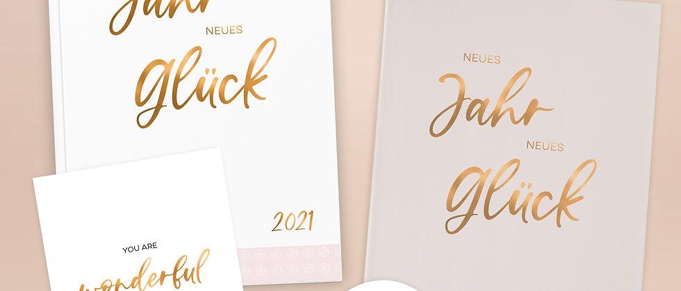 """Geschenk-Set """"Neues Jahr, neues Glück"""""""