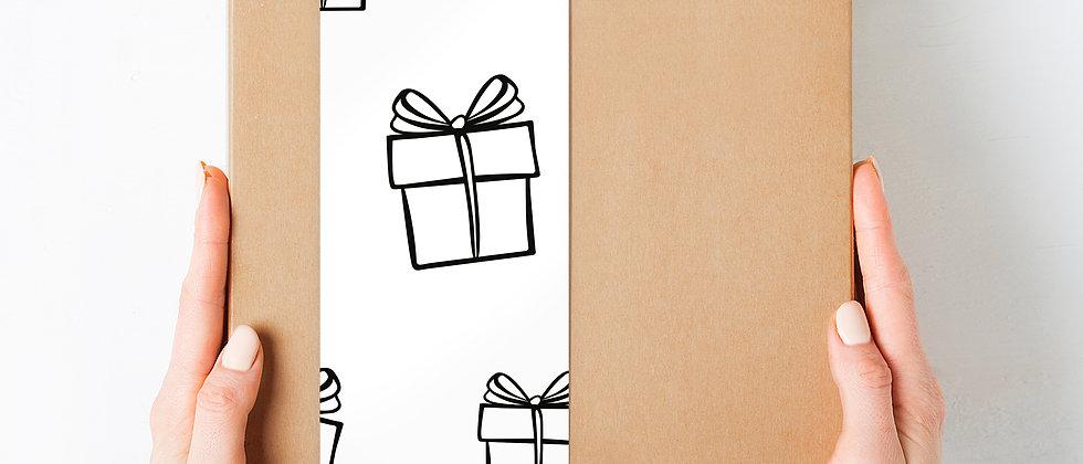 """Geschenk-Box """"Wir sind Eltern"""", blau"""