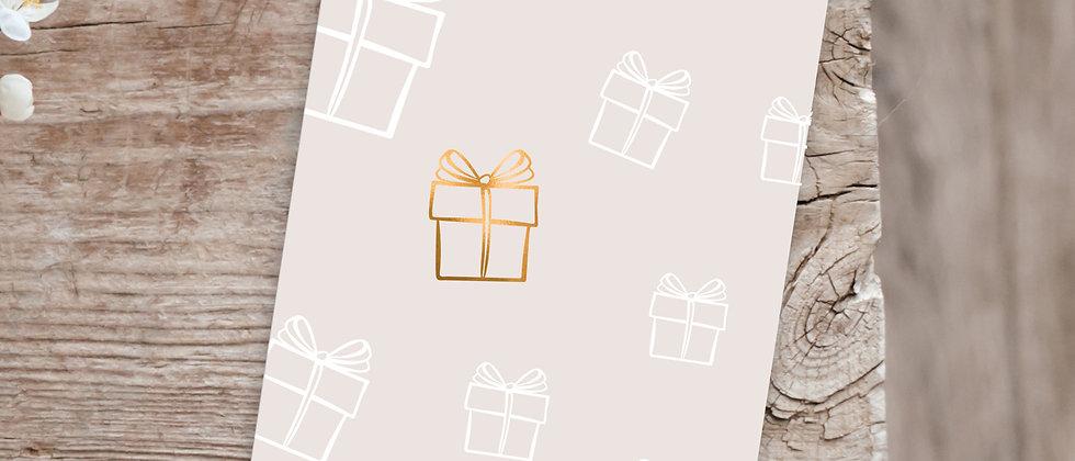 Geschenke - Karte (Special Edition)