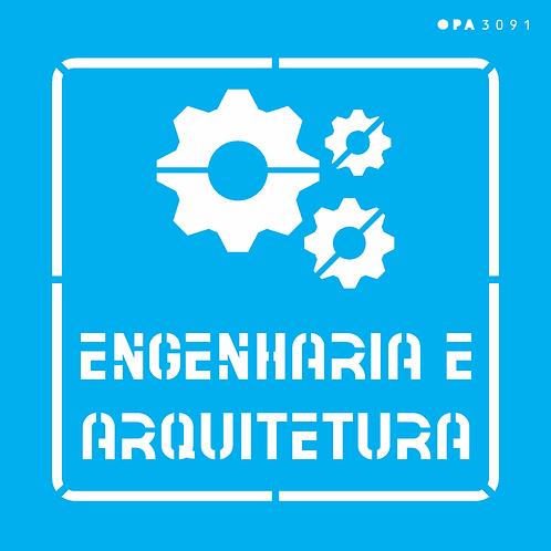 Stencil OPA 14×14  – Profissões Engenharia