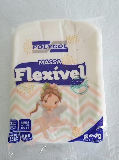 Massa de Biscuit Flexível Polycol - Natural 500g