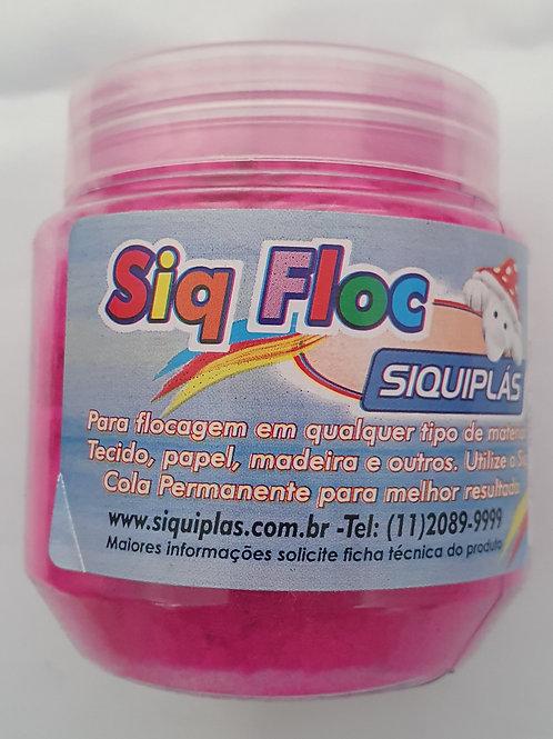 Pó de Flock Siquiplás 25g - Rosa Fluor