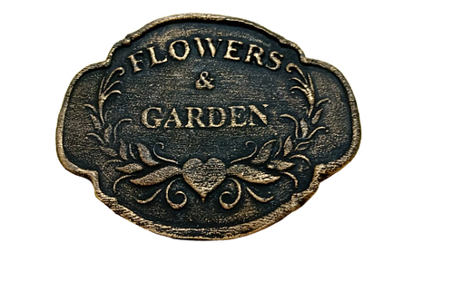Tag de Biscuit Nair Rocha -  Flowers & Garden