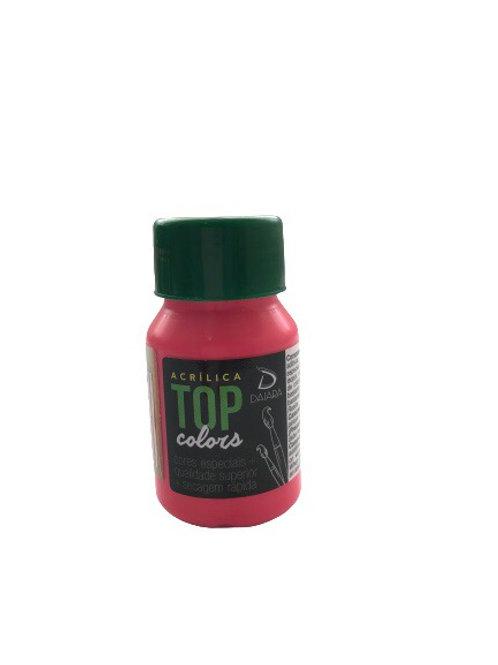 Tinta Acrílica Top Daiara 37ml - Laca Rosa