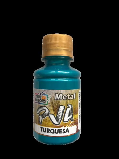 PVA Metal True Colors 100ml - Turquesa