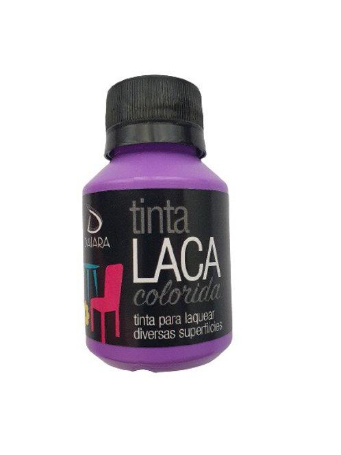 Tinta Laca Colorida Daiara 80ml - Violeta