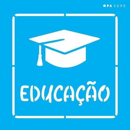 Stencil OPA 14×14 – Profissões Educação