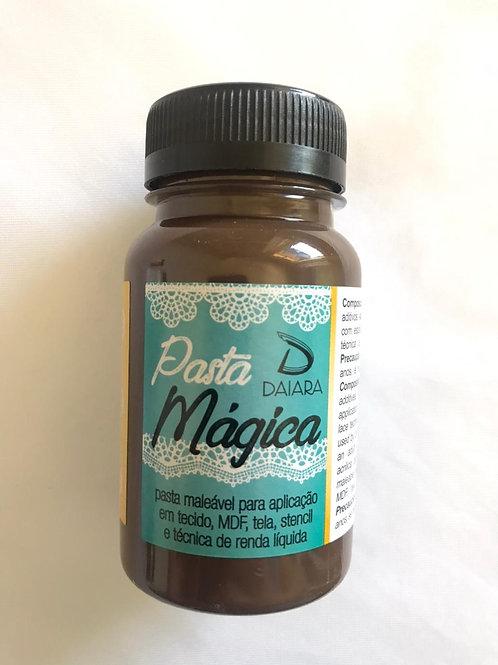 Pasta Mágica Daiara - Marrom Café