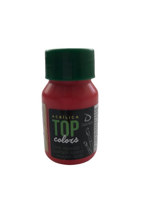 Tinta Acrílica Top Daiara 37ml - Vermelho