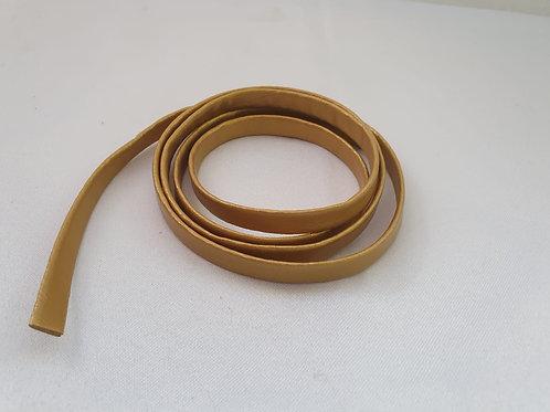 Fio Courvin (couro) - Dourado
