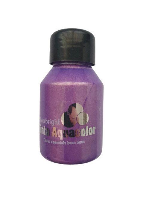Tinta Aquacolor Silverbright - Lilás Ouro