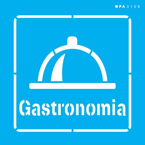 Stenc OPA 14×14 – Profissões Gastronomia